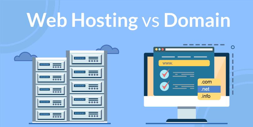 web-hosting-vs-domain